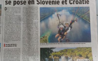 En l'Air pour la Terre se pose en Slovénie et Croatie
